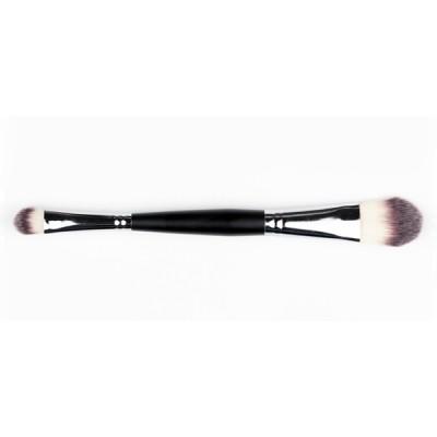 Pinceau De Maquillage DELUXE double pour Fond de Teint