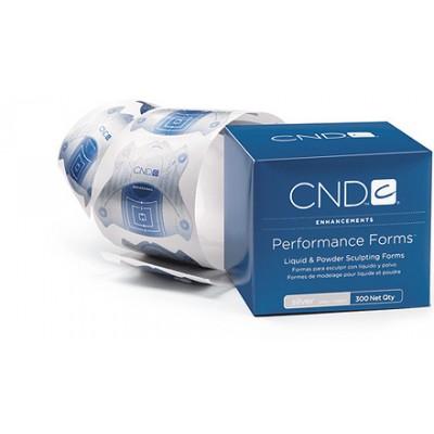 CND Performance Forms Silver  (bt.300) pour Acrylique